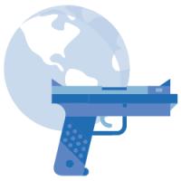 La violencia y el cambio climático son factores